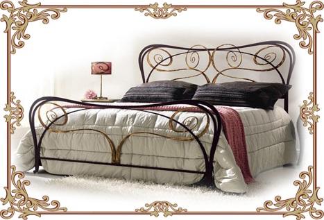 кованые кровати для дома
